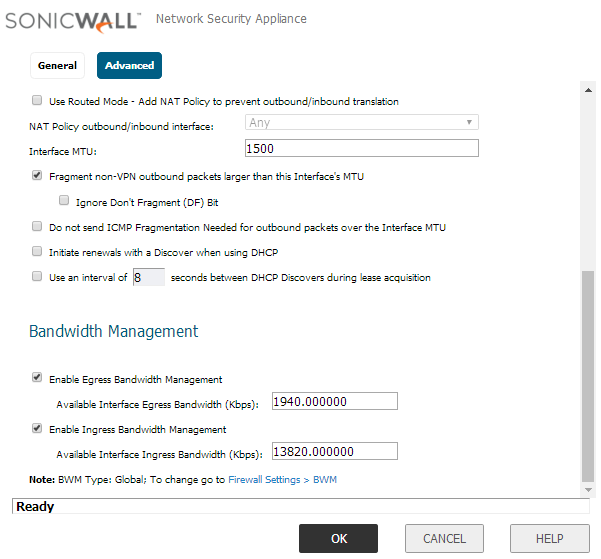 SonicWall TZ-SOHO — FusionPBX Docs documentation